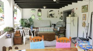 Covered terrace - 39m²