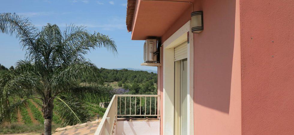 First floor Balcony terrace - 17m²